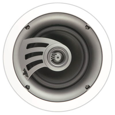 "Destination Audio 6-1/2"" in ceiling speaker ( Front View)"
